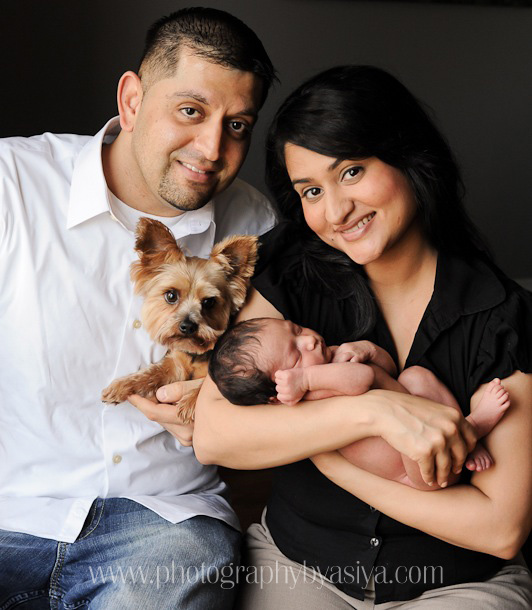 01 Family Portrait With Dog And Baby0001
