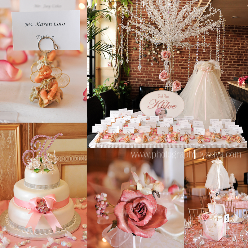 Elegant baptism decorations cake ideas and designs