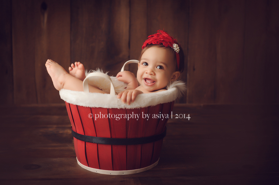 Holiday Newborn Photography
